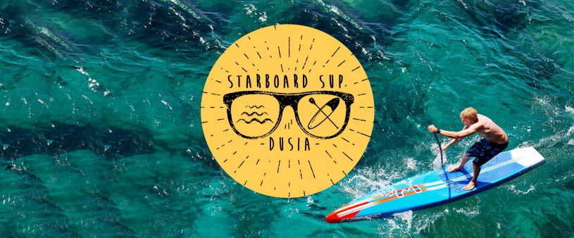 starboard sup dusia